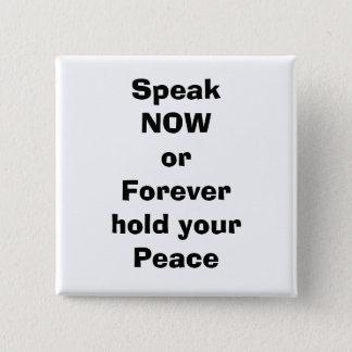 speak 2 inch square button