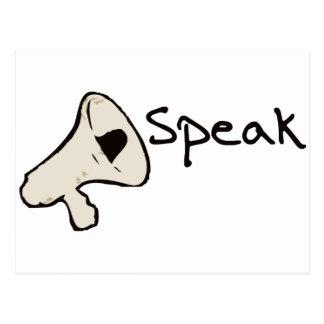 Speak Campaign Postcard