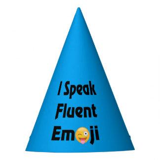 Speak Emoji Party Hats