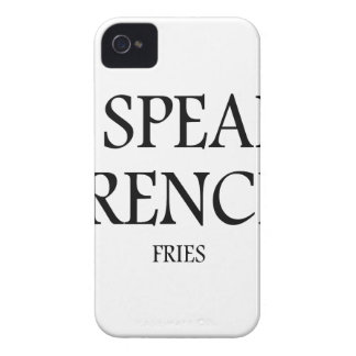 Speak French Fries iPhone 4 Case-Mate Cases