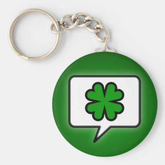 Speak Irish Now Key Chain