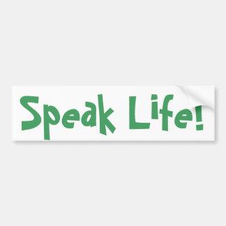 Speak Life! Sticker