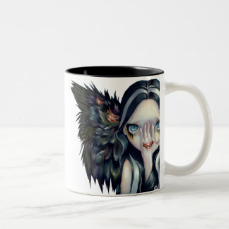"""Speak No Evil"" and ""Divine Hand"" Mug"