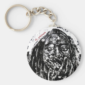 Speak No Evil Into Existence Keychain