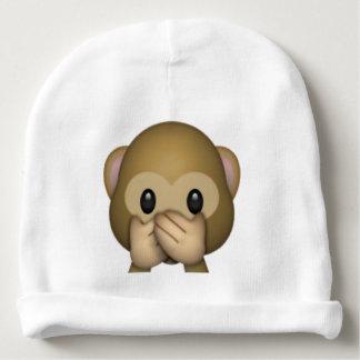 Speak No Evil Monkey - Emoji Baby Beanie