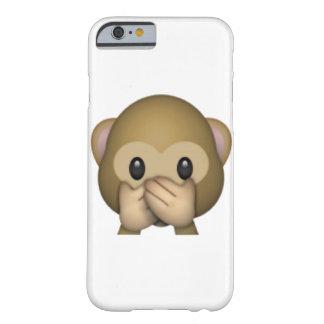 Speak No Evil Monkey - Emoji Barely There iPhone 6 Case