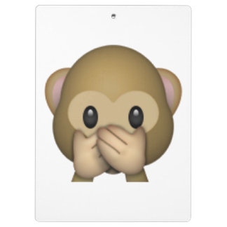 Speak No Evil Monkey - Emoji Clipboard
