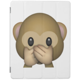 Speak No Evil Monkey - Emoji iPad Cover