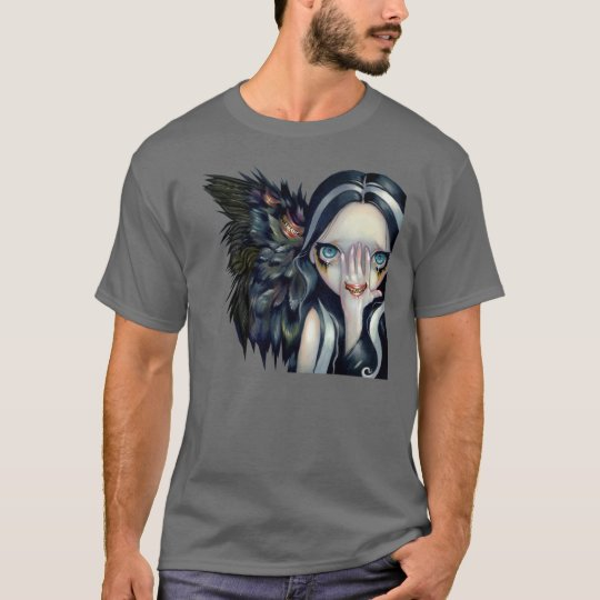 Speak No Evil SHIRT gothic angel horror surrealism