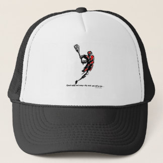 Speak Softly and Carry a Big Stick... Trucker Hat