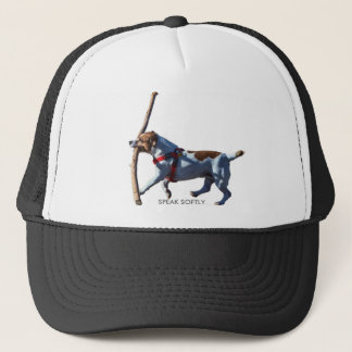SPEAK SOFTLY TRUCKER HAT