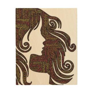 Speak Truth - Empower Each Other Wood Print