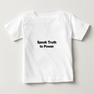 Speak Truth To Power Baby T-Shirt