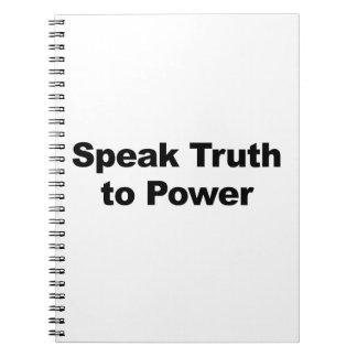 Speak Truth To Power Notebook