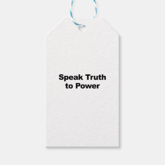 Speak Truth To Power Pack Of Gift Tags