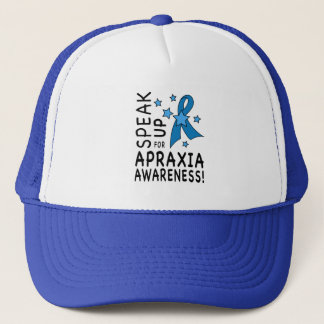 Speak up for Apraxia Awareness Trucker Hat