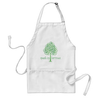 Speak Up for Trees - Tree Hugger Standard Apron