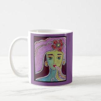 Speak Wisdom Goddess, original art Coffee Mug