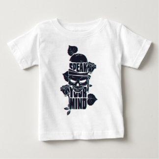 speak your mind skull baby T-Shirt
