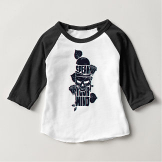 speak your mind skull baby T-Shirt