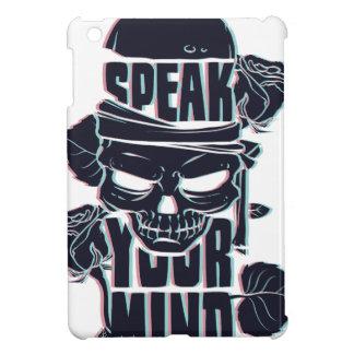 speak your mind skull cover for the iPad mini