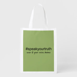 Speak Your Truth Reusable Grocery Bag