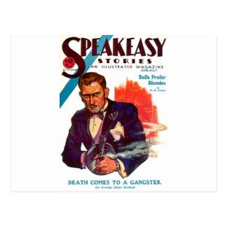 Speakeasy Postcard