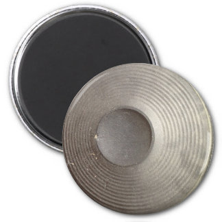 Speaker abstract 2 inch round magnet