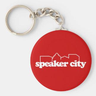 Speaker City old school Key Chain