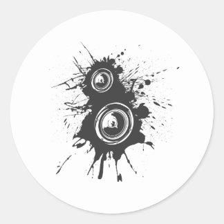 Speaker Graffiti - DJ Music Disc Jockey Audio Stickers