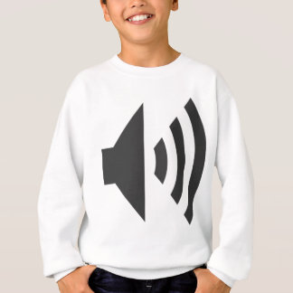 Speaker Icon Sweatshirt