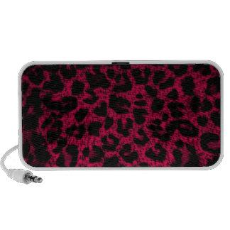 Speaker~  Pink Leopard Print