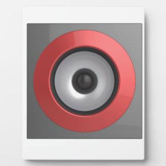 Speaker Plaque