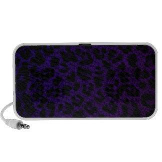 Speaker~ Purple Leopard Print