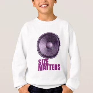 Speaker Size Matters Sweatshirt