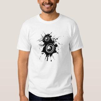 Speaker Splatter Tshirts