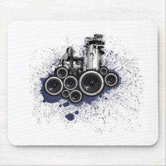 Speakers Mouse Pad