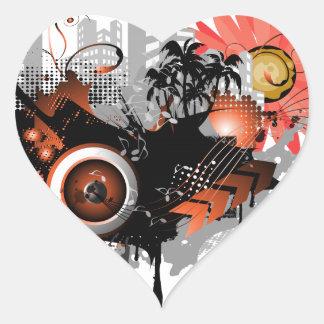 Speakers Heart Stickers