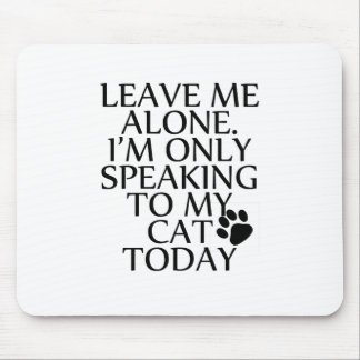 Speaking Mouse Pad