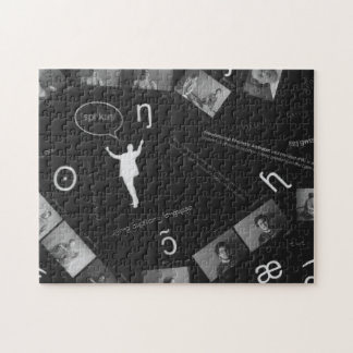 Speaking Photogram Jigsaw Puzzle