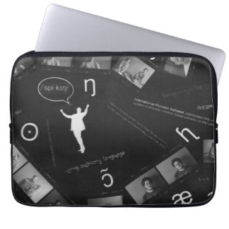 Speaking Photogram Laptop Sleeve