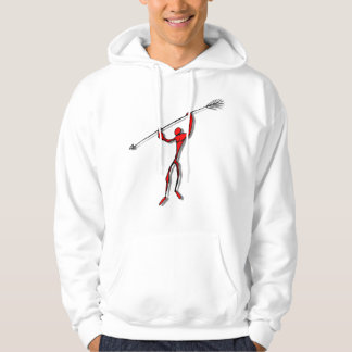 Spear Chucker - red Hoodie