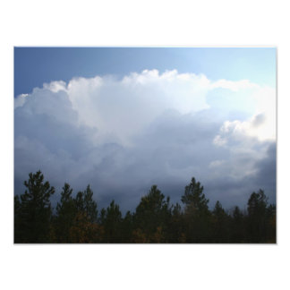 Spearfish Canyon Thunderstorm Photo Print