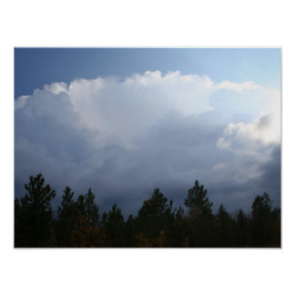 Spearfish Canyon Thunderstorm Poster