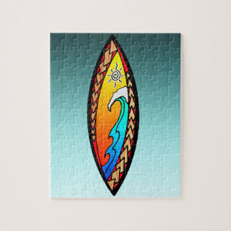 Spearhead Wave Jigsaw Puzzle
