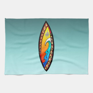 Spearhead Wave Kitchen Towel