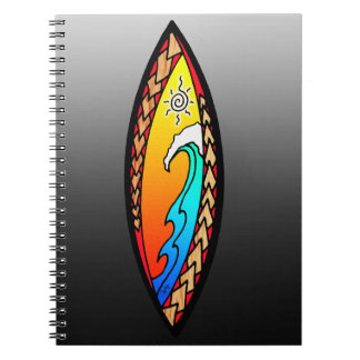 Spearhead Wave Spiral Notebook