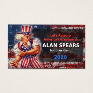 Spears 2020 business card