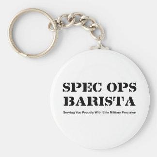 Spec Ops Barista Keychain