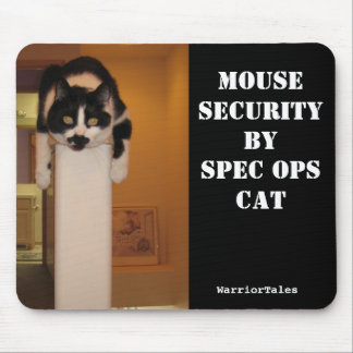 Spec Ops Cat Mousepad